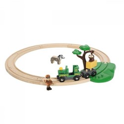 BRIO trein Treinset safari 33720