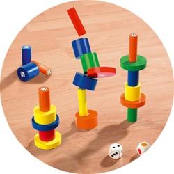 Beleduc  houten kinderspel Torreta