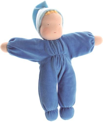 Grimm's knuffelpop Blauw
