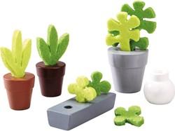 Haba  Little Friends poppenhuis accessoires Bloemen en Planten