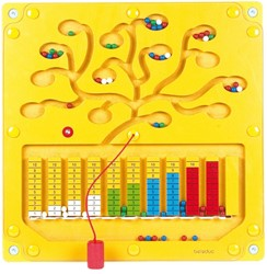 Beleduc  houten muurspel Speelelement getallenboom