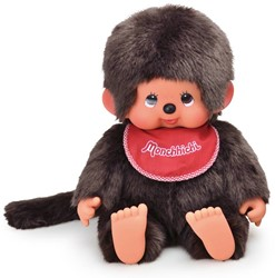 Monchhichi  knuffelpop Jongen Zittend - 45 cm