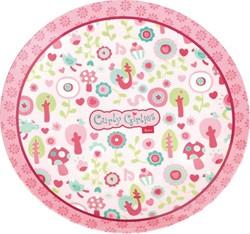 Sigikid  kinderservies melamine bord Curly Girlies 24269