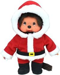 Monchhichi  knuffelpop Kerstman - 20 cm