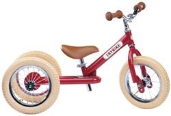 Trybike loopfiets 2-in-1 staal - Vintage rood