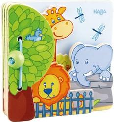 Haba  houten babyboek Zoovrienden 300129