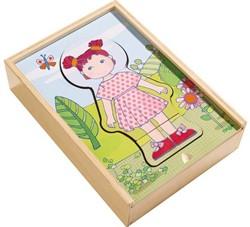 HABA Houten puzzel Lilli's lievelingskleren