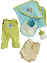 Haba  Lilli and friends poppenkleding Beginnersset Babypop Fritzi 301139