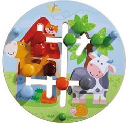 Haba  leerspel motoriekbord boerderijwereld