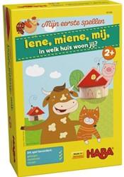 HABA Spel - Mijn eerste spellen - Iene, miene, mij, in welk huis woon jij?