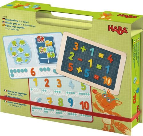 HABA Magneetspeldoos 1, 2, tel mee!