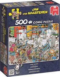 Jumbo Jan van Haasteren puzzel Snoepfabriek - 500 stukjes