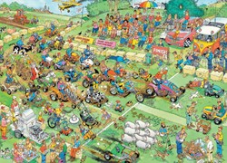 Jumbo Jan van Haasteren puzzel Grasmaaierrace - 2000 stukjes
