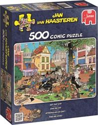 Jumbo Jan van Haasteren puzzel Vang Die Kat - 500 stukjes