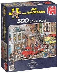 Jumbo Jan van Haasteren puzzel Brand meester! - 500 stukjes