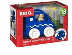 BRIO speelgoed Politieauto met licht en geluid