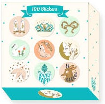 Djeco 100 Stickers Stickers Lucille