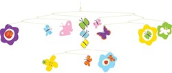 Djeco  babymobiele Vlinders