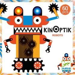 Djeco puzzelspel Kinoptik Robots - 58 stukjes
