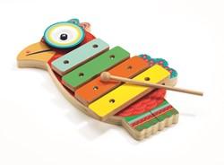 Djeco houten muziekinstrument Cymbaal en xylofoon