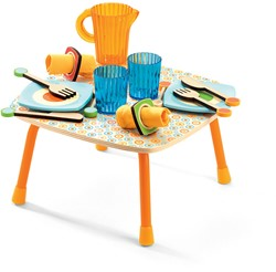 Djeco Jeux d'imitation-Gourmandises Le déjeuner de Gaby