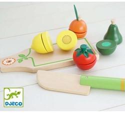 Djeco Jeux d'imitation-Gourmandises Fruits et légumes à couper*