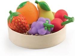 Djeco  houten keuken accessoires Fruitset
