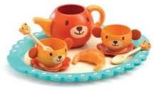Djeco Jeux d'imitation-Gourmandises Le goûter de Teddy