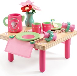 Djeco houten keukenaccessoire Lili Rose's lunch set