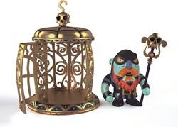 Djeco Arty Toys - Gnomus & Ze cage
