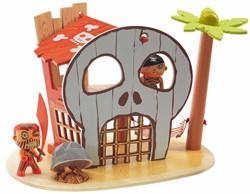 Djeco Arty Toys - Ze pirat island