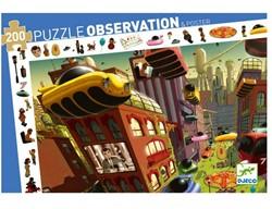 Djeco Puzzles observation Ville du futur - 200 pcs
