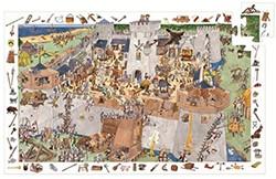 Djeco puzzel observation kasteel