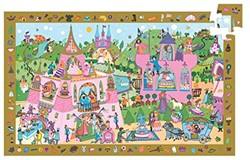 Djeco puzzel observation prinsessen