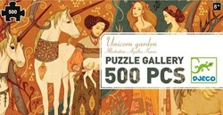 Djeco puzzel De eenhoorn tuin - 500 stukjes