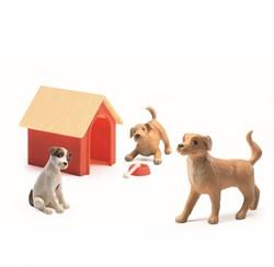 Djeco poppenhuispop Honden