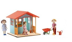 Djeco poppenhuis Garden playhouse
