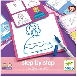 Djeco creatief Step by step - Joséphine and Co