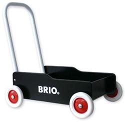 BRIO speelgoed Zwarte loopwagen