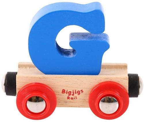 Bigjigs Lettertrein G