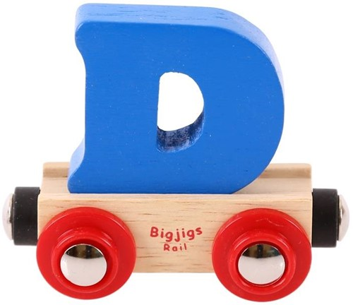 Bigjigs Lettertrein D