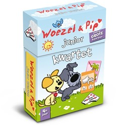 Identity games  kinderspel Woezel & Pip Junior Kwartet