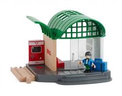 BRIO trein Treinstation met geluid 33745