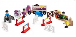 Brio  houten trein accessoire Concours set 25 delig - 33796