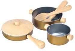 Plan Toys houten keuken accessoires Cooking utensils