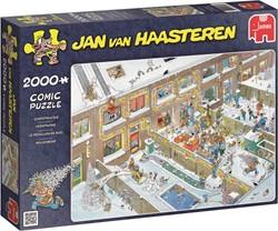 Jumbo Jan van Haasteren puzzel Kerstavond - 2000 stukjes