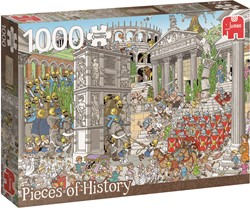 Jumbo  Pcs of History The Romans - 1000 stukjes