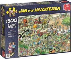 Jumbo Jan van Haasteren puzzel Boerderij Bezoek - 1500 stukjes