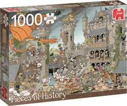 Jumbo  Pcs of History The Castle - 1000 stukjes