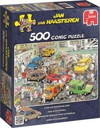 Jumbo Jan van Haasteren puzzel In de Autospuiterij - 500 stukjes